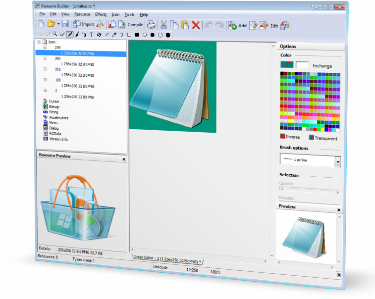 Click to View Full ScreenshotResource Builder 3.0.2 screenshot